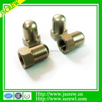 Hexagonal retaining nut,push nut