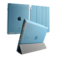 Best-fit Leather Case For Ipad 4, Ultra Thin 2 in 1 Smart Cover For Ipad 4, for ipad cover
