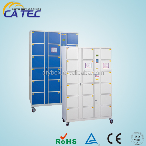Super quality electronic auto locker for water park self-service storage wardrobe locker CT18