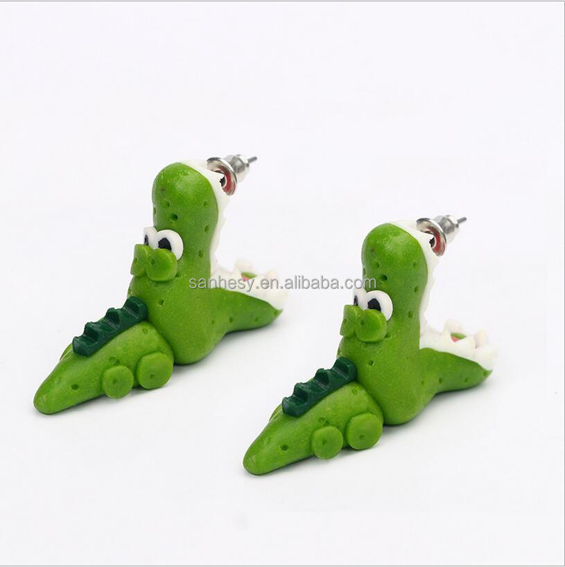 China Cheap Jwewellry Cute Polymer Clay Stud Earring