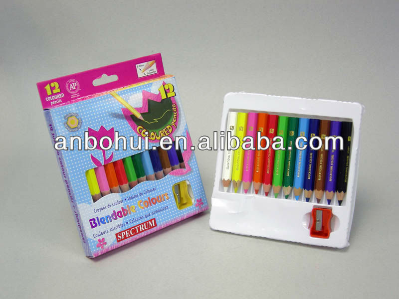 3.5 inches mini /jumbo color pencil set / colour pencils