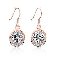 925 Sterling Silver Gemstone Diamond Earrings For Girls 3 Gram Gold Beautiful Designed Earrings
