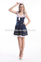 wholesalers dropship instyles walson Adult Nautical Doll sailor Marine Costume manufacturers