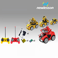 2pcs against deformation voice lights toys cars radio control for kids