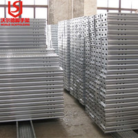 Tianjin factory OEM accept steel Scaffolding Planks With Perforated Design In Layher T4 Style