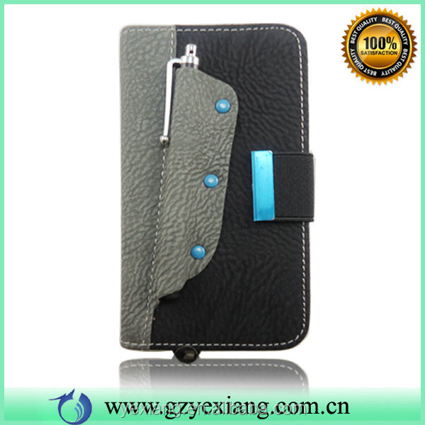 Fashion Design Cell Phone Back Cover For Samsung Galaxy S5 Leather Case