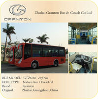 china used bus city bus with 25 seat for sale GTZ6760