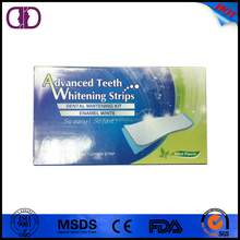 tooth whitening film tooth whitening strips 6% hydrogen peroxide/non-peroxide gel