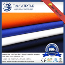 Textile 65 polyester 35 cotton dyed twill woven TC workwear fabric for trousers