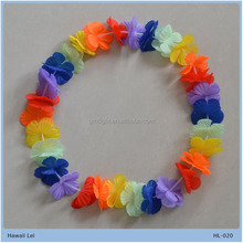 hawaiian garland flower leis