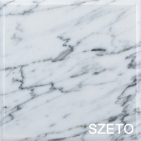 W004 Hot selling calacatta marble slab white marble tile