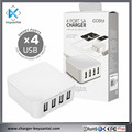 Universal Portable 4 Port Usb Charger Smart Phones Charger for Mobile Phone Mini Charging Station
