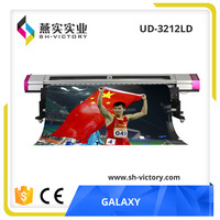 1440dpi Galaxy UD-3212LD digital inkjet eco solvent printer cutter with DX5 Head(3.2m/10ft, A Big Promotion on August)