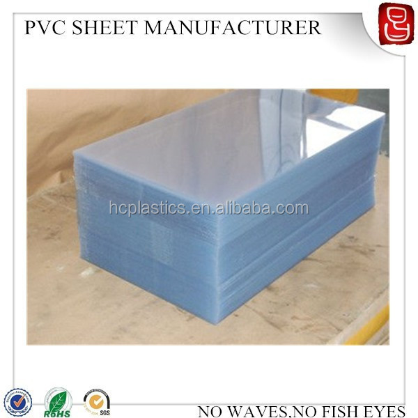 4 x 8 clear pvc sheet/rigid PVC film