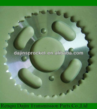 standard 1045# steel high quality motorcycle sprocket