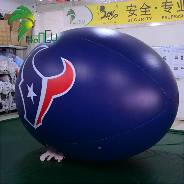 Promotion Giant Inflatable Soccer Balloons / Helium Inflatable American Football