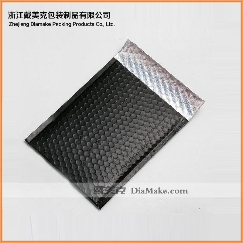 Strong seal adhesive custom pad envelope mailer aluminum foil bubble bag