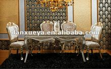 European luxury neoclassic dining table and chair ER# table+309#chair