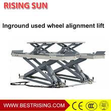Car used in-ground scissor lift for workshop