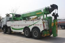 Latest Version Flat Bed Crane Under Lift Wrecker Heavy Duty Tow Truck For