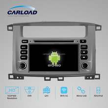 "wholesale GPS Car Navigation system for Toyota LC100 with 7"" touch screen and"