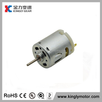 massager/vibrator dc small micro motor,vibrating dc electric brush motor,dc micro motor 24v 7000rpm rs-360(CE ISO9001 Rohs)