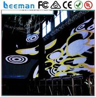 flexible decoration plastic wall panels indoor video wall control stage led display /led back stage screen/stage led screen