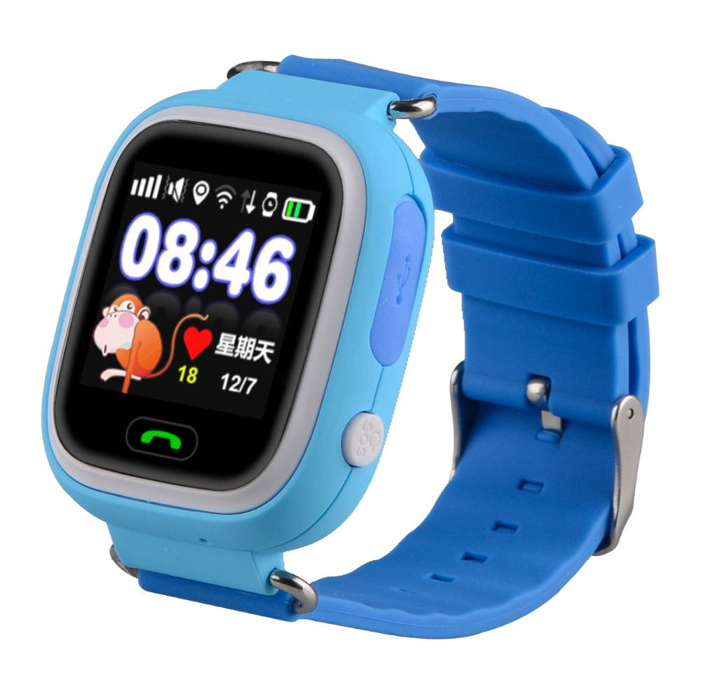 New arrival touch screen GPS tracker watch for kids with sos emergency call function(TM-S002B)