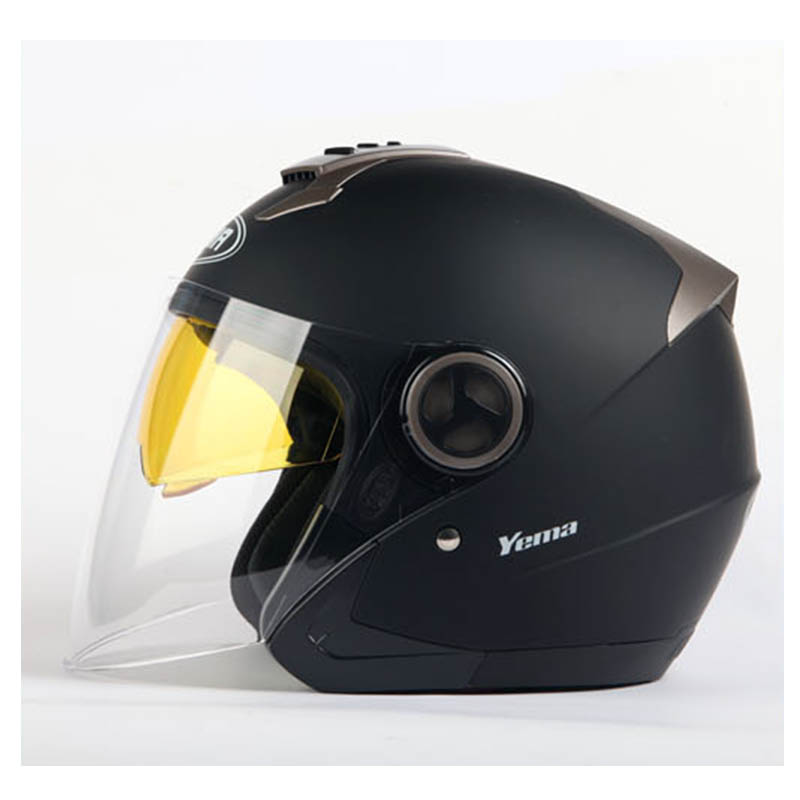 YM-623 vega scooter design open face helmets with dual visors