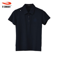 China Direct Factory Logo In Front Fit Body Polo Shirt