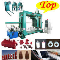 2014 best selling insulated high voltage secondary bushing resin APG process moulding machine(23 years experience)