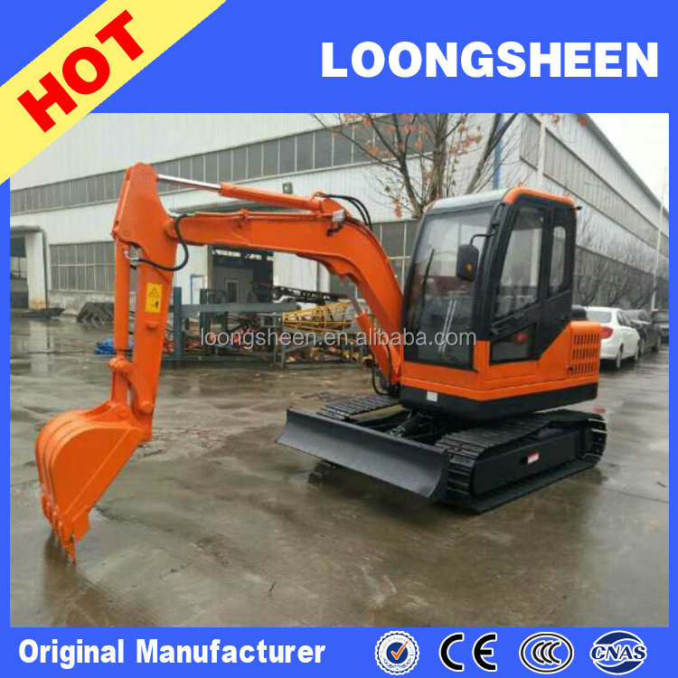 Directly manufacturer 3ton mini hydraulic crawler excavator with cheap price