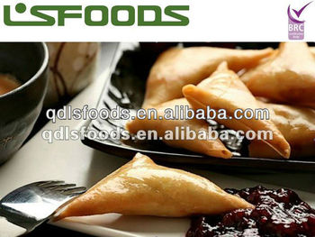 best price IQF frozen samosa/curry triangle
