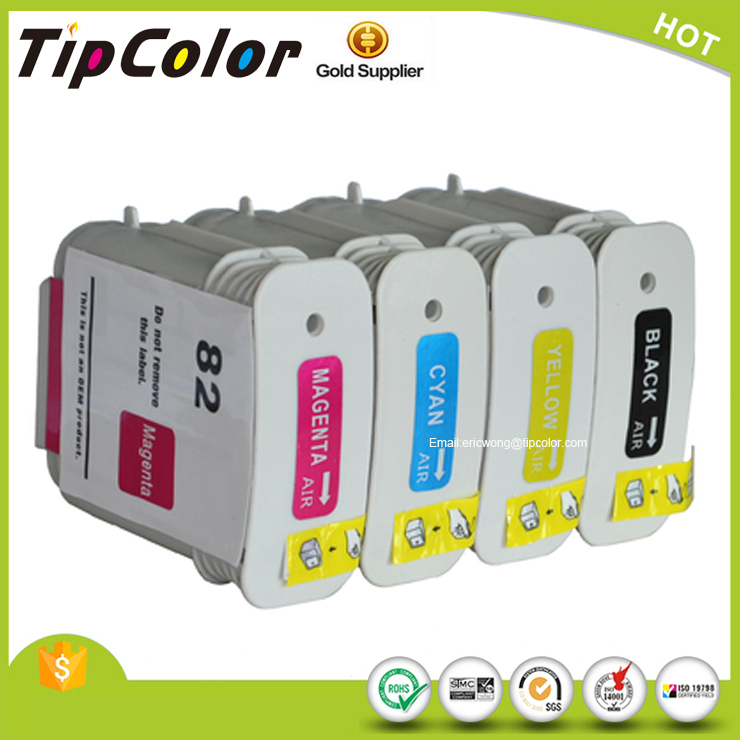 Compatible HP Designjet 10ps/120nr/20ps/500/500 plus500ps/50ps/510/800/800ps/815/820 82 Ink Cartridge