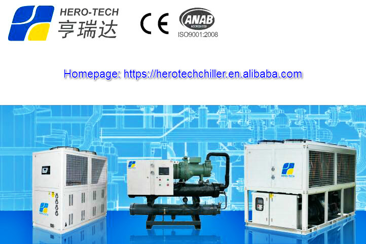 high quality low price 50hp scroll compressor 150kw air cooled water chiller for extruder