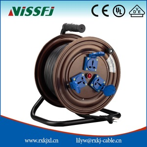 Chinese supplier Extension Reel electric retractable cable reel T300LK