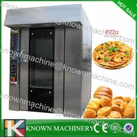Widely used in food processing rotating bakery ovens with CE