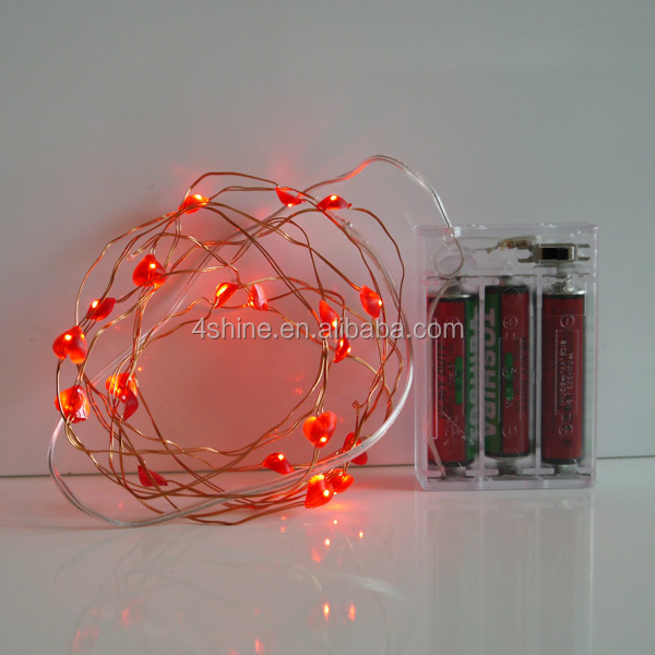 Battery Led Copper Wire String Lights for Patio party