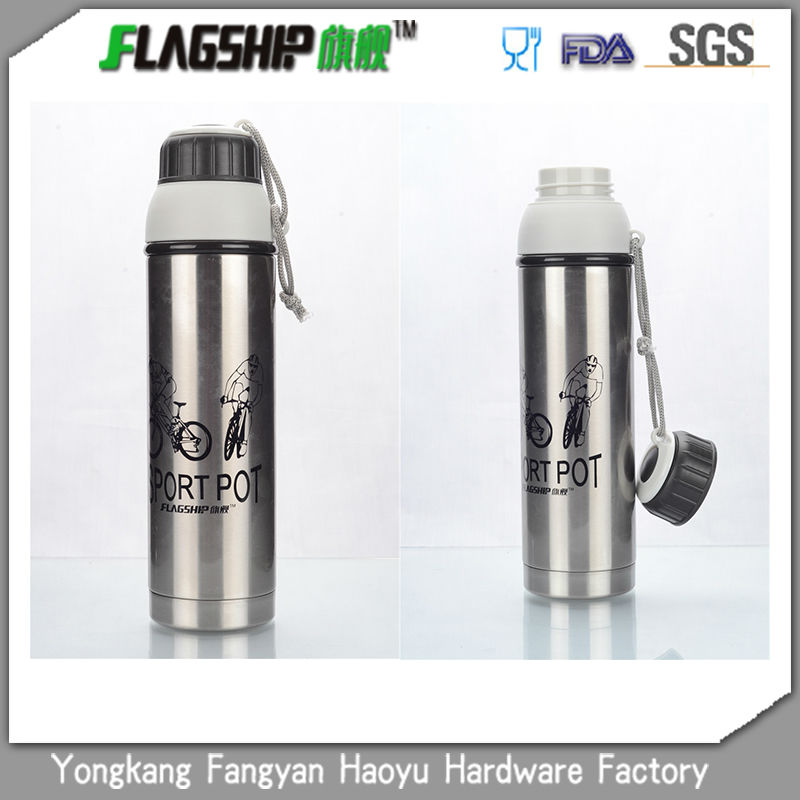 Hot style--stainless steel sports vacuum bottle lighter