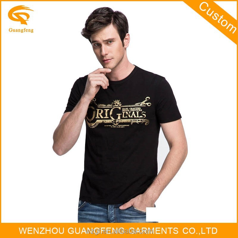 Bulk Cheap Clothing Cotton Mens T-shirts Clothes For Sale
