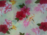 190T 100% polyester many designs print pongee fabric for home textile with good quality