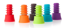 Glass bottle cork stopper wholesale- FDA silicone wine bottle stopper