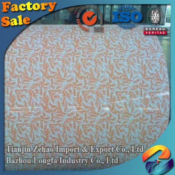 PPGI Roof Sheet Metal Sheet Printing Plates Color Coated Steel Coil for Container House
