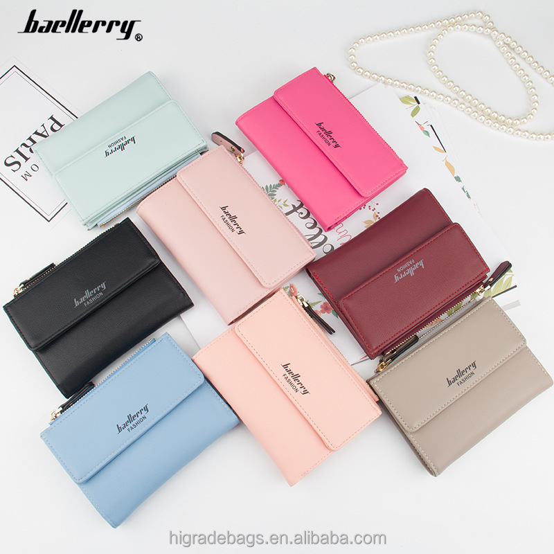 2018 ladies zipper <strong>wallet</strong>