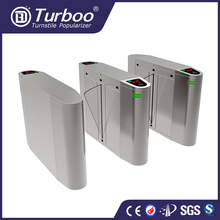 Automatic stainless steel biometric access control bank security door