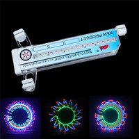 New Arrival Colorful Car Motorcycle Cycling Bike Bicycle Tire Wheel Valve 16 LED Flash Spoke Light