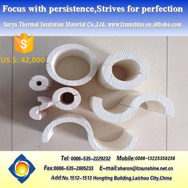 Calcium Silicate Pipe Cover : Barato cubierta de los tubos materiales aislamiento