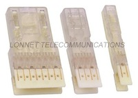 transparent 110 type 1 pair patch plug