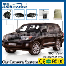 360 degree surround view camera system, special for Land Cruiser, supplier for 360 degree car camera system
