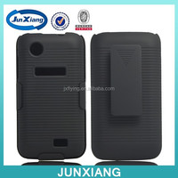black color for Lenovo A369 holster combo case